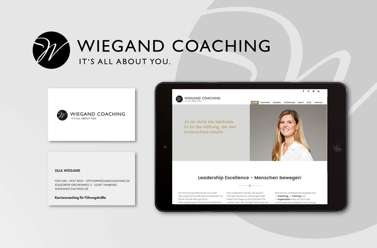 Ulla Wiegand Coaching | Corporate Design